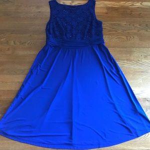 Semi formal or cocktail knee length dress
